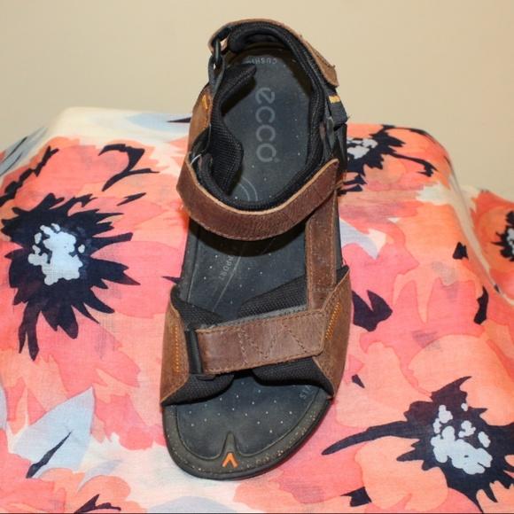 59ab6158d5 Ecco Shoes | Euro Size 40 Leather Sandals Sport Womens | Poshmark